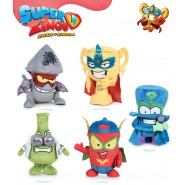 SET 5 Plush 20cm SUPERZINGS Rare Tim Rocket Pow Position Enigma Professor K Kid Fury Original MAGIC BOX Play By Play