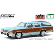 CHARLIE'S ANGELS DieCast Model Car 30cm 1979 Ford LTD Country Squire Scale 1/18 ORIGINAL Greenlight Artisan