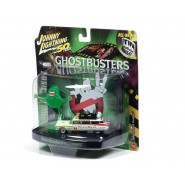 GHOSTBUSTERS Model Car 8cm ECTO 1A 1959 Version Scale 1/64 Slimed with Slimer Original  Johnny Lightnining