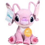 PLUSH Soft Toy ANGEL Version BIG Talking English Language 30cm DISNEY Lilo Stitch OFFICIAL