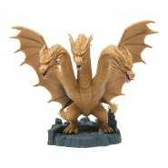 KING GHIDORAH Figura 11cm DEFORMATION KING 2019 Original Monsterverse Bandai From Godzilla 2