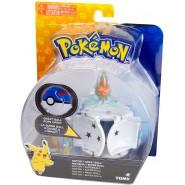 Pokemon ROTOM Figure 4cm + GREAT POKE BALL POP-UP Original TOMY PokeBall
