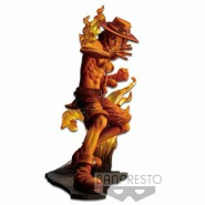 ONE PIECE STAMPEDE Figure Statue PORTGAS D ACE 14cm BROTHERHOOD 3 Original BANDAI