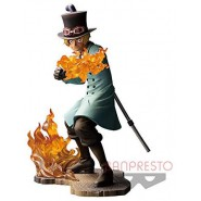 ONE PIECE STAMPEDE Figure Statue SABO 14cm BROTHERHOOD 3 Original Banpresto BANDAI