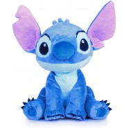 Plush STITCH Alien GIANT 55cm Original Official DISNEY Hologram LILO