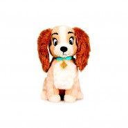 Plush 30cm LADY From Lady and The Tramp Origianl DISNEY Animal Friends OFFICIAL Hologram  Play By Play
