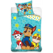 BABY BED SET Cotton Duvet Cover PAW PATROL High Paw 100x135cm ORIGINAL Nickelodeon