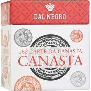 CANASTA Set DELUXE 162 Card CUBED BOX Rules Scorekeeper DAL NEGRO 90027