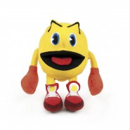 Plush PAC-MAN PAC MAN 15cm With Hook Videogame Retro Original BANDAI NAMCO Moya