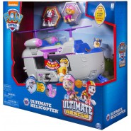 PAW PATROL Playset Vehicle SKYE 's ULTIMATE HELICOPTER Rescue SOUNDS LIGHTS SpinMaster