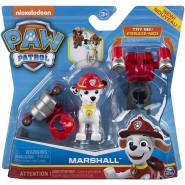 PAW PATROL Playset Figure MARSHALL with 2 INTERCHANGEABLE UNIFORMS SpinMaster