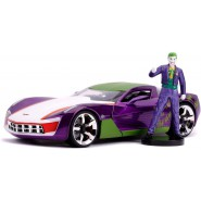 2009 CHEVY CORVETTE STINGRAY With Figure Joker 1/24 DIE CAST DC Comics Batman JADA Toys