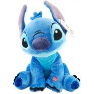 PLUSH Soft Toy STITCH Talking BIG 40cm DISNEY Lilo Stitch OFFICIAL