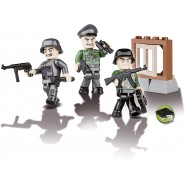 COBI 3 Characters German Soldiers With Accessories 2027 25 Pieces Constructions
