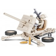Playset Military Cannon Gun ORDNANCE QF 2 POUNDER Small Army COBI 2189