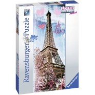 TOUR EIFFEL Poster Jigsaw PUZZLE 1000 Pieces Vertical Panorama Original Official 37.5x98cm Paris Oh La La