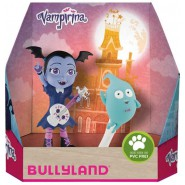 VAMPIRINA Box 2 Figures 9cm VAMPIRINA ROCKER and DEMI Ghost Original BULLYLAND