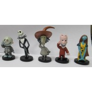 NIGHTMARE BEFORE CHRISTMAS Set 6 Figures 7cm Jack Skellington