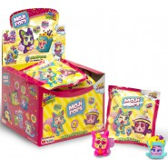 MOJIPOPS BOX 18 Sachet with 2 Characters Each ORIGINAL Party Series Poppy Celebrity Glitter Pearl