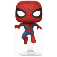 PETER PARKER Figure Vynil Bobble Head 7cm from SPIDER-MAN Into The Spider-Verse Originale POP Funko 404