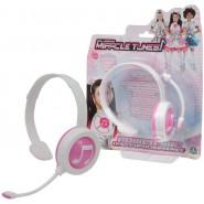 MIRACLE TUNES Boxed REPLICA DRESS Headphones Color PINK Original GIOCHI PREZIOSI