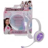 MIRACLE TUNES Boxed REPLICA DRESS Headphones Color PURPLE Original GIOCHI PREZIOSI