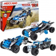 MECCANO Kit Set RALLY RACER CAR 10 IN 1 Construction ORIGINAL 18203