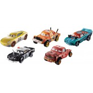 Boxes SET 5 Car Models 8cm from CARS 3 Thunder Hollow DieCast METAL Original MATTEL GDD13
