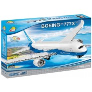 Playset AIRPLANE Plane BOEING 777x Constructions COBI 26602 Building Blocks