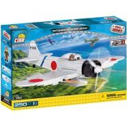 Playset AIRPLANE Militar Plane MITSUBISHI A6M2 ZERO Japanese - COBI 5515 Building Blocks