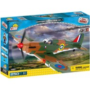 Playset AIRPLANE Militar Plane HAWKER HURRICANE MK 1 Original COBI 5518 Building Blocks