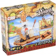 Playset PIRATE CASTAWAY Ship PIRATES Contructions COBI 6010 Building Blocks