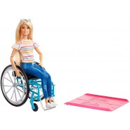 BARBIE WHEEL CHAIR Fashionistas Doll Original Mattel GGL22
