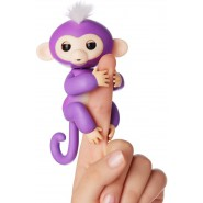 FINGERLINGS Monkey MIA 12cm VIOLET Baby Monkey Robotic Interactive WowWee