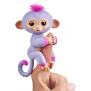 FINGERLINGS Monkey SYDNEY 12cm LILAC Baby Monkey Robotic Interactive WowWee