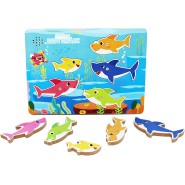 BABY SHARK Wooded PUZZLE With MUSIC Jingle ORIGINAL Official