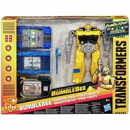 TRANSFORMERS Playset BUMBLEBEE CASSETTE PACK 4 Models Hasbro E2048