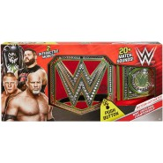 BELT Wrestling WWE UNIVERSAL CHAMPIONSHIP With SOUND Original Mattel FFD49