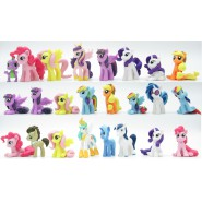 MY LITTLE PONY Complete Set 24 Figures PENCIL TOPPERS for Collectors ORIGINAL Cake Topper Decoration