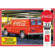 COCA COLA Ford VAN Mounting Model SNAP Kit Scale 1:25 AMT 1173