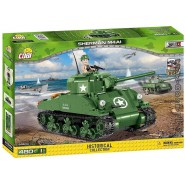 Playset TANK SHERMAN M4A1 Small Army COBI 2464A Building Blocks