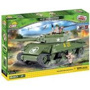 Playset TANK M-10 WOLVERINE Small Army COBI 2475 Building Blocks