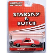 STARSKY and HUTCH Model Car Ford GRAN TORINO 1976 DIRTY Version Scale 1:64 Greenlight