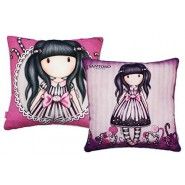 SANTORO GORJUSS Pillow Girl with Candy Ribbon 40x40cm Original and Official