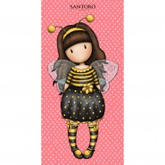 SANTORO GORJUSS Girl Bee Just Bee-Cause Beach Towel 75x150cm Bath ORIGINAL Official