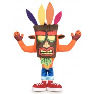 PLUSH Soft Toy CRASH BANDICOOT With Uka Uka Mask 32cm OFFICIAL Activision Play By Play