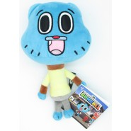 PLUSH 20cm GUMBALL Amazing World Main Character Blue Cartoon Network Play By Play