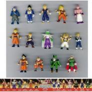 Rare COMPLETE SET 14 Mini Figures DRAGONBALL Z Original Giochi Dolci Preziosi