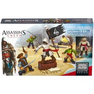 ASSASSIN'S CREED Battalion Playset PIRATE CREW PACK With 5 SOLDIERS Original Playset  MEGA BLOKS