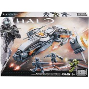 PHAETON GUNSHIP Building Blocks Playset PLANE from HALO Mega Bloks 97380